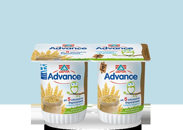 ΔΕΛΤΑ Advance Επιδόρπιο Γιαουρτιού – Δημητριακά