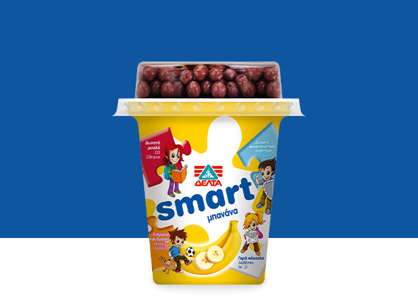ΔΕΛΤΑ Smart – Επιδόρπιο Γιαουρτιού Μπανάνα