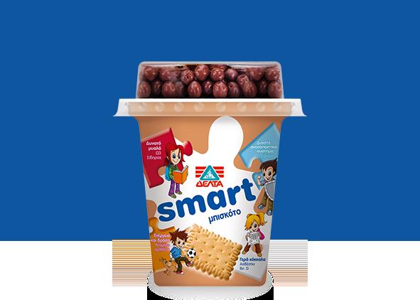 ΔΕΛΤΑ Smart – Επιδόρπιο Γιαουρτιού Μπισκότο