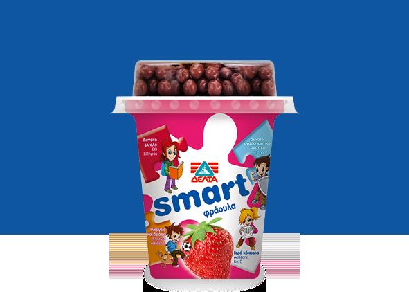 ΔΕΛΤΑ Smart – Επιδόρπιο Γιαουρτιού Φράουλα