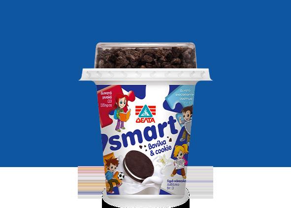 ΔΕΛΤΑ Smart – Επιδόρπιο Γιαουρτιού Βανίλια και Cookie