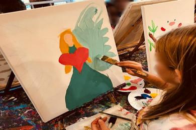 """""""Με χρώματα και φαντασία"""" στο Ίδρυμα Θεοχαράκη"""