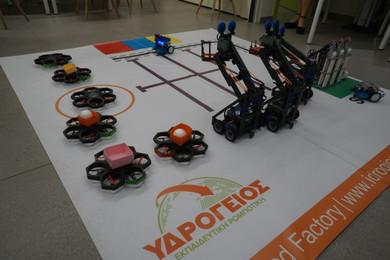 Εγγραφές για Εκπαιδευτική Ρομποτική στην Υδρόγειο