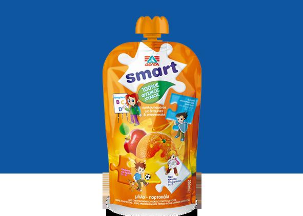 ΔΕΛΤΑ Smart – Φυσικός χυμός μήλο – πορτοκάλι