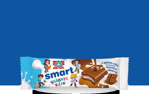 ΔΕΛΤΑ Smart Γαλακτοκέικ με Σοκολάτα Γάλακτος