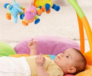 Παιχνίδια για τον πρώτο χρόνο του μωρού σας