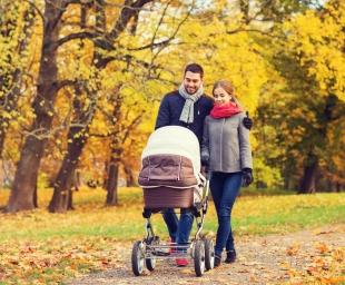 Οδηγός για τις πρώτες χειμωνιάτικες βόλτες με το μωρό
