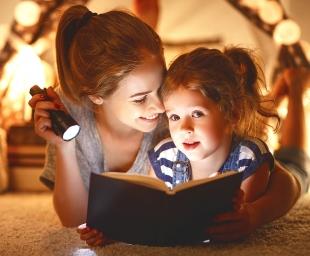 Διαβάζοντας βιβλία στα παιδιά μας