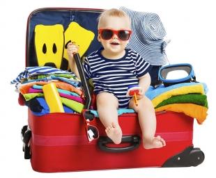 Η βαλίτσα του μωρού και πως να την οργανώσεις